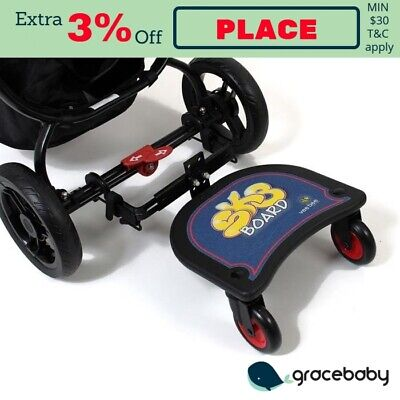 Vee Bee SK8 Stroller Pram Accessory Ride-On Standing Board