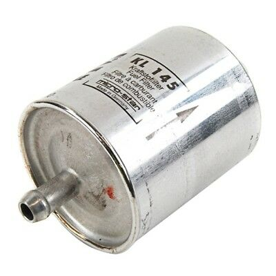 Fuel Filter Small In-Line Metallic Type Service Replacement Spare - Mahle KL145