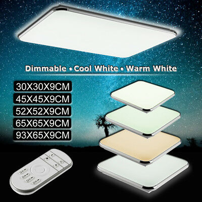 16W 24W 36W 48W 96W Modern Square LED Ceiling Light Bedroom Living Dimmable Lamp