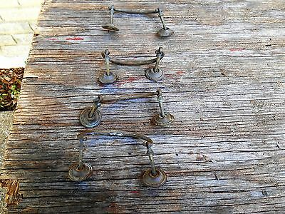 "Vintage Brass Drawer Pull  - 3.5"" Centers       [4]"