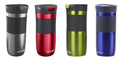 Contigo Byron Autoseal Travel Mug 470ml Steel Spill Free Stainless Steel