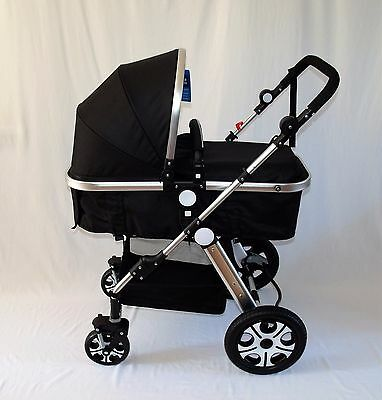 New Baby Toddler Pram Stroller Buggy/ Pushchair Travel System. From 0 to 3