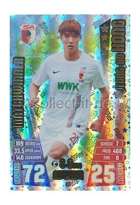 Match Attax Extra 15/16 MX-617 - Jeong-Ho Hong - Matchwinner