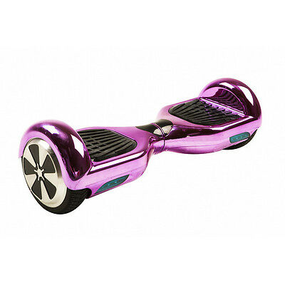 Led Chrome Self Balancing Electric Smart Scooter Balance Hoverboard Two Wheel