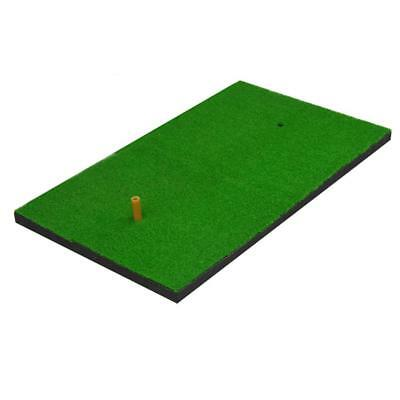 "Hot Golf Hitting Mat Practicing Mat Rubber Green 15.7""x27.6"" Training Tee Holder"