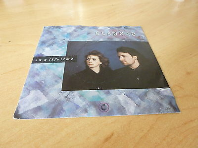 "Clannad Ft Bono In A Lifetime  / Indoor 7"" Vinyl Pic Slv Combined Postage"