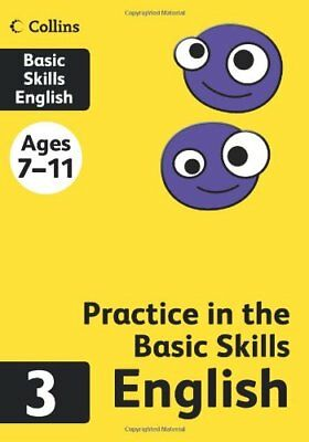 Collins Practice in the Basic Skills - English Book 3, , New condition, Book