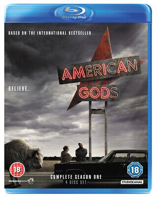 American Gods: Complete Season One DVD (2017) Ricky Whittle ***NEW***