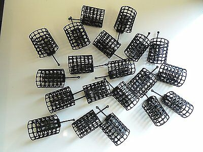 20 x Round grip mesh Cage Feeders - 40 grams.  Carp / Coarse fishing