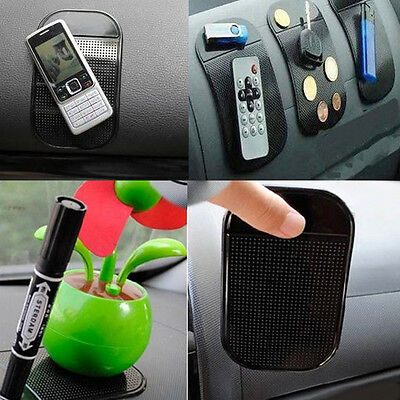 Car Magic Sticky Pad Anti Slip Mat Dashboard Gel Phone Items Holder Accessories