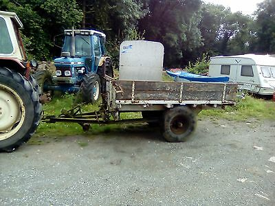 vintage agricultural tipping trailer classic tractor