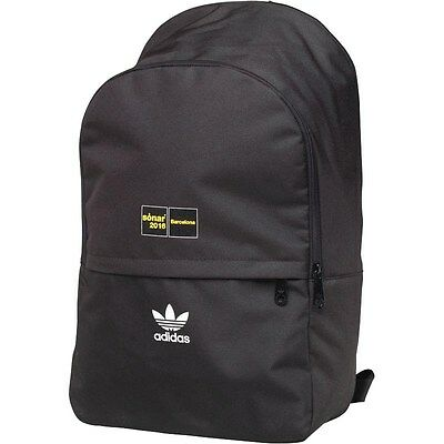 353757f53acf adidas Originals Mens Sonar Backpack Black Pantone White New