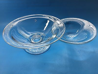 2 Piece Glass Bowl & Glass Insert For Ice & Shrimp Etc.