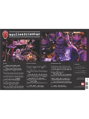 Aquiles Priester Wall Chart Drums
