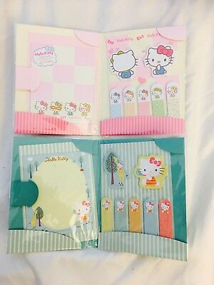 Sanrio Sticky Notes Folder Set New Planner Supply Post It's Notes