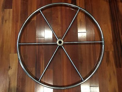 36 Inch Stainless Sailboat Steering wheel