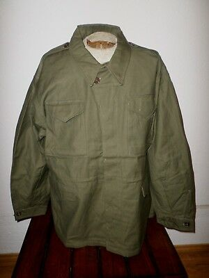 Wwii U.s Military M - 43 Field Jacket Reproduction Model 43, Size 44 Regular