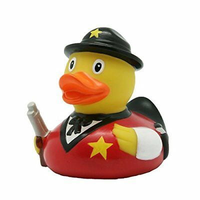 Lilalu 8 x 8 cm / 50 g Sheriff Collector e Bagnetto Toy Rubber Duck