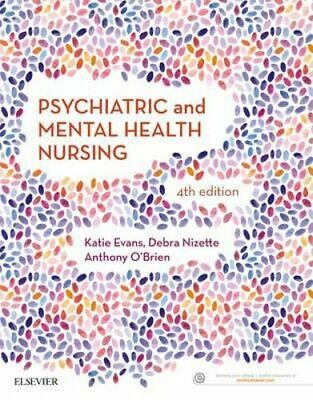 NEW Psychiatric and Mental Health Nursing 4th Edition By Evans Paperback