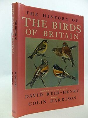 The History of the Birds of Britain by Colin Harrison Hardback Book The Cheap