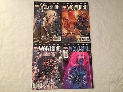 Wolverine The End #1 2 3 & 5 Lot Marvel Comics 2004 Limited Series VF