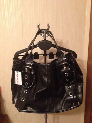 New Adam Milano Leather Women big Bag Size 16 (40cm)x12.5 (32cm)7.5 (20cm).