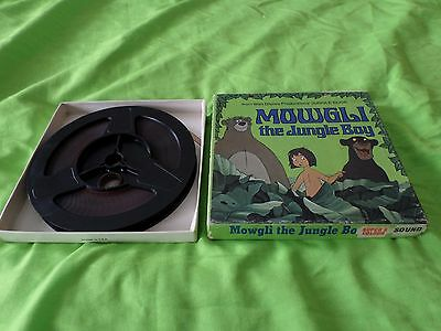 Super 8mm sound colour Mowgli the jungle boy 50ft reel