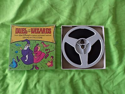 Super 8mm Sound colour movie walt disney's duel of the wizards 50ft reel