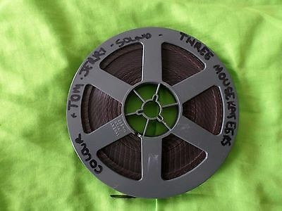 Super 8mm sound colour movie tom and jerry three mousekateers 50ft reel