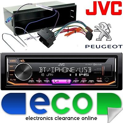 Peugeot 307 CC SW 2005-08 JVC Bluetooth CD MP3 USB Car Stereo Radio & Fascia Kit