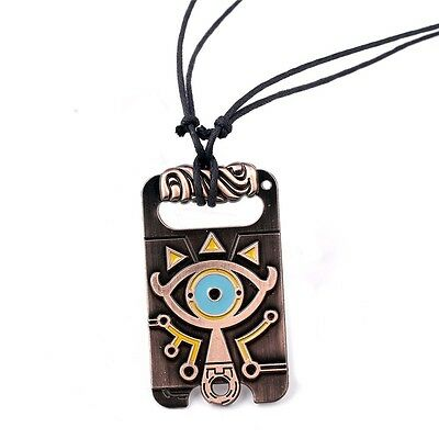 The Legend of Zelda Sheikah Slate / Breath of the Wild Necklace Pendant Cosplay