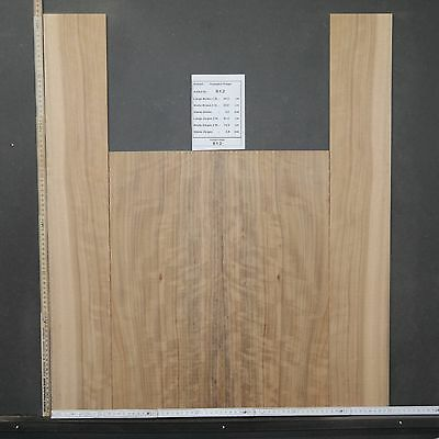 Tonewood Ovangkol 912 Amazakue Tonholz Guitar Builder Acoustic Backs Site & SET