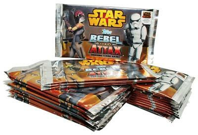 TOPPS - Star Wars - Rebel Attax - 25 Booster - Deutsch