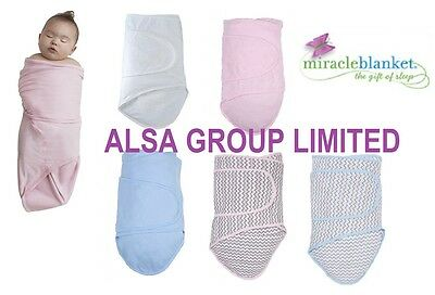 Miracle Blanket Swaddle Baby Triple Patent Swaddling Sleeping Soft Cotton