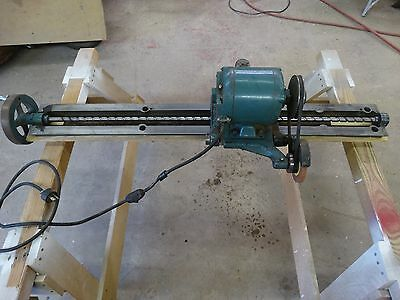 """Vintage Oliver 30"""" Knife Grinder Attachment For Jointers ~Please Read Last Note"""