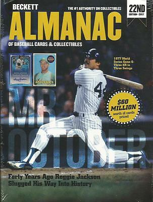 2017 Beckett Baseball Almanac Cards & Collectibles Price Guide 22nd Edition