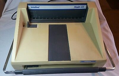 VeloBind Model 223 Binding Machine With Book Cover Caser & 100 Spines
