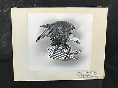 Production Artwork - Eagle and Shield