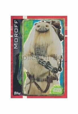 Topps Star Wars - Rogue One - 186 - Moroff - Holo