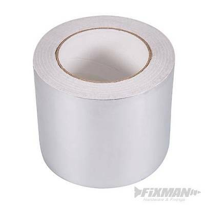 Aluminium Foil TAPE Jointing Insulation Panels Gutters Ducting - 100mm x 50M