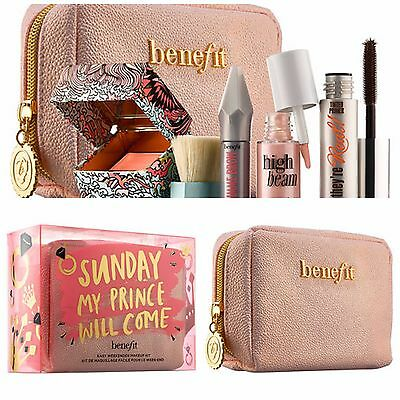 AUTHENTIC❤Benefit Set:Sunday My Prince Will Come,High Beam, California, Bag❤