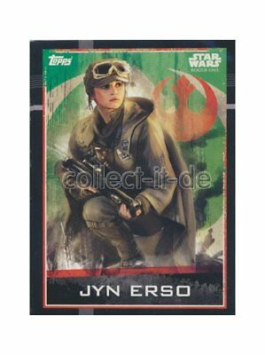 Topps Star Wars - Rogue One - 062 - Jyn Erso
