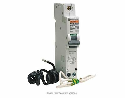 Merlin Gerin 1P TypeC Residual Current Circuit Breaker with Overload Protect 20A