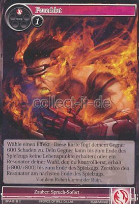 Force of Will TCG - BFA-018 Feuerblut
