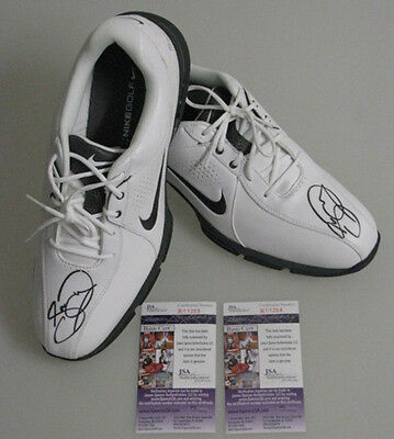 JASON DAY Hand Signed Pair of Golf Shoes   + 2 x  JSA COA  * 100% BUY GENUINE*