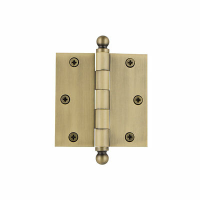"Grandeur 3.5"" Ball Tip Residential Hinge with Square Corners"