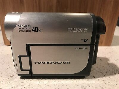 Sony Dcr-Hc38 with cables, batteries