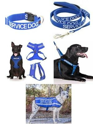 Colour Coded Dog Warning Awareness  - SERVICE DOG Harnesses Leads Collars Coats
