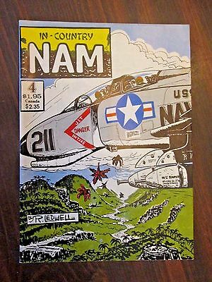 In-Country Nam #4 Comics (1986 Survival Art Press) by Ronald Ledwell