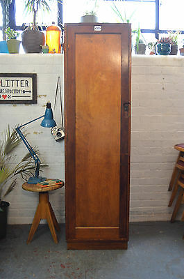 Vintage Wooden Air Ministry Locker Wardrobe Cabinet Kitchen Larder